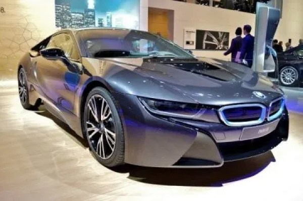 The first-ever BMW i8 Roadster equipped as standard with exclusive 20-inch BMW i light-alloy wheels in Radial-spoke style bicolor design with mixed-size tires (Jet Black design optional). Intelligent lightweight design also make an impact here, with each wheel weighing around 2.2 pounds less than the lightest wheels previously available for the BMW i8. In addition to the standard 20-inch light-alloy wheels, customers can choose from another four light-alloy wheel variants with the same dimensions. The Mean Green Machines of NAIAS 2014