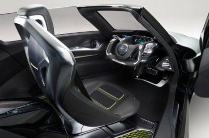 Nissan electric sportscar