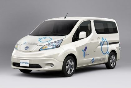 Nissan electric truck