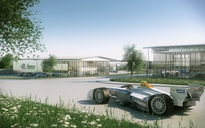 FORMULA E TO BUILD NEW HEADQUARTERS AT DONINGTON PARK