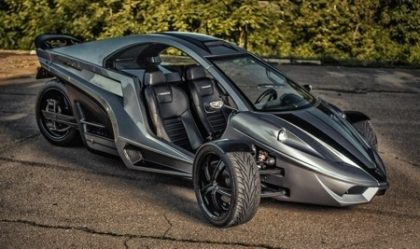 """Tanom Motors to Unveil """"Invader Model R"""" High Performance Reverse Trike in 2014"""