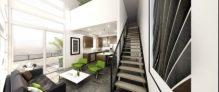 Solo lofts, eco-friendly condo building