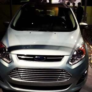 Ford CMAX Energi plugin hybrid electric car