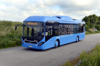 Volvo launches noiseless electric buses in Gothenburg