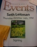 Seth Leitman Green Guru Guides book tour
