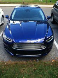 Ford Fusion Energi plugin hybrid Electric car