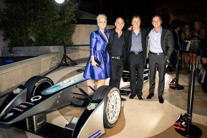 FORMULA E PARTNERS WITH ONE DROP