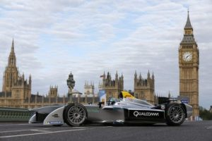 Formula E is the world's first fully-electric race series