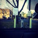 General Electric EV charging station