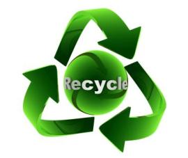 talk about recycling with your blog audience