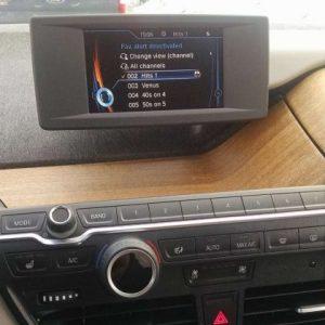 BMW i3 electric car Eucyliptus Dashboard