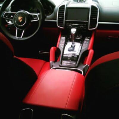 interior 2015 Porsche Cayenne S E-hybrid plugin hybrid electric car