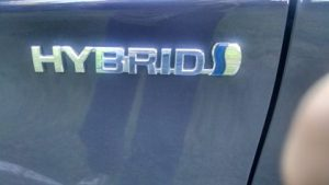 Toyota Prius hybrid Electric car logo