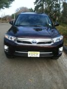 Toyota Highlander hybrid electric