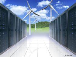 Data centers going green
