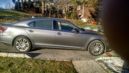 Lexus 600h Limited hybrid electric car