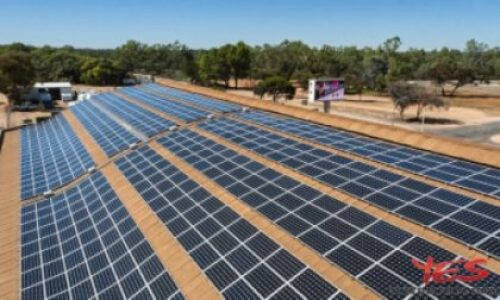 A solar project for grape growers in Australia