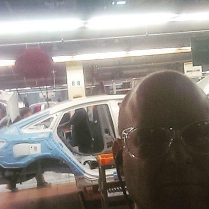 at the Hyundai Elantra Eco Plant in Birmingham, Alabama