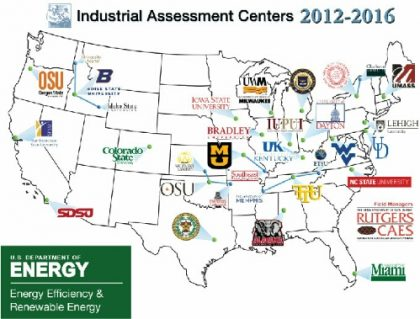 In a Senate briefing last week, staff on Capitol Hill attended a presentation celebrating the success of theIndustrial Assessment Centers (IAC) program, a little-known and long-standing initiative funded by the US Department of Energy (DOE) that helps small manufacturers save energy while training the next generation of energy efficiency engineers.