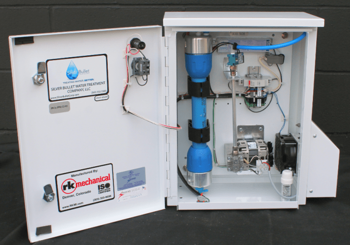 Silver Bullet™ Proven to Reduce Legionella in Cooling Towers  without Added Chemicals