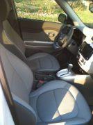 interior Kia Soul electric car