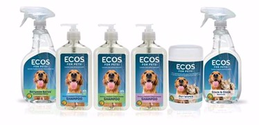 With its decades-long commitment to making safer pet care products, Earth Friendly Products recently introduced its all-new ECOS™ for Pets line. This collection includes the first-ever U.S. EPA Safer Choice–certified pet shampoos. ECOS™ for Pets Conditioning Pet Shampoos in Peppermint and Free & Clear are two of over 70 Safer Choice-certified products made by Earth Friendly Products. The Safer Choice logo tells consumers that that every ingredient in the product is the safest in its class and that it has been tested for superior performance.
