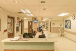 McLaren Health Care, a statewide integrated healthcare network, and Future Energy Group, a turnkey energy solutions provider, have partnered to revolutionize exterior and interior lighting across 11 hospitals in Michigan.The massive undertaking—25,000 Cree outdoor and indoor LED fixtures and over 12,000 Cree SmartCast® intelligent lighting fixtures were installed—will enable McLaren to reduce their energy expenditure by nearly 70% and realize an estimated cost savings of over $1.6 million annually in energy and operating costs. Before shot