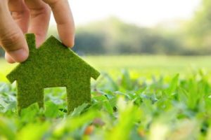 Green living improve Home energy efficient home.