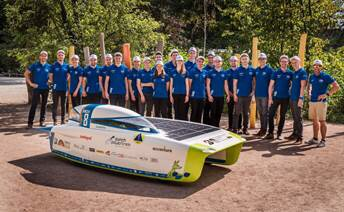 "Powered only by solar energy, the 32 competing teams will race from Darwin to Adelaide, over the course of five days. Both teams are receiving both the material, para-aramid Twaron®, and technical support from Teijin Aramid. In particular, the University of Michigan team is using Twaron to reinforce the undercarriage of the car, choosing this material for its high abrasion resistance and high strength-to-weight ratio. Sarah Zoellick, from the University of Michigan team: ""We're very grateful to Teijin Aramid for generously supporting our needs, and helping us to meet the design deadlines at short notice."""