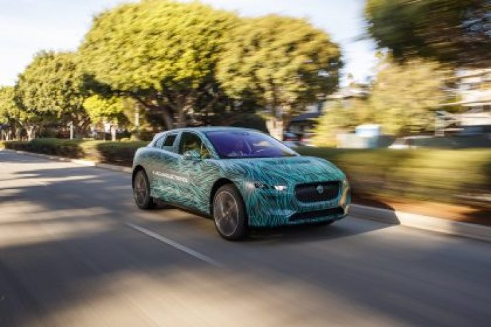 ELECTRIC ROAD TRIP: JAGUAR I-PACE TESTED IN LOS ANGELES AHEAD OF 2018 REVEAL