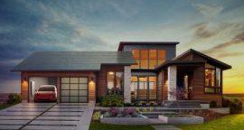 Panasonic and Tesla go Solar Shingles
