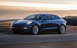 Tesla Model 3 and Panasonic