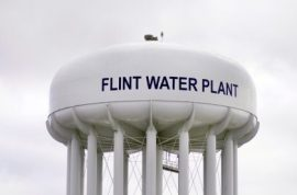 Flint water plant Michigan