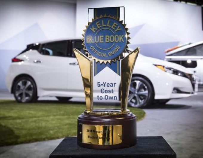 Nissan Leaf. KBB 5 years to own electric Car