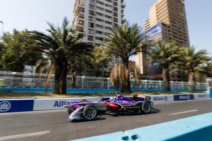 - Briton keeps up title bid after points finish and fastest lap in Chilean capital - Third spot for DS Virgin Racing in closely fought teams' standings