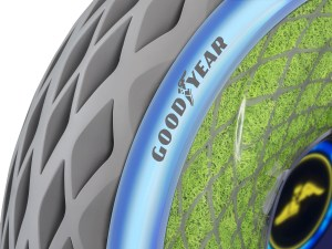 Goodyear Unveils Oxygene, a Concept Tire Designed to Support Cleaner Mobility