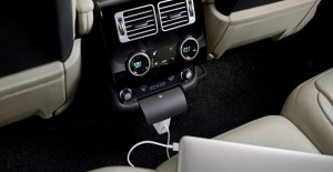 If you're working while being driven, up to 17 connection points including domestic plug sockets, USB, HDMI and 12-volt are all available; 4G Wi-Fi hotspots for up to eight devices and convenient storage are all designed for the business traveller.