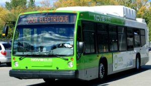 Nova Electric buses. The Government of Canada is encouraging widespread adoption of electric vehicles by supporting innovative projects that provide more options to drive clean.Today, Joe Peschisolido