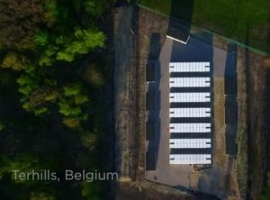 Tesla power packs belgium