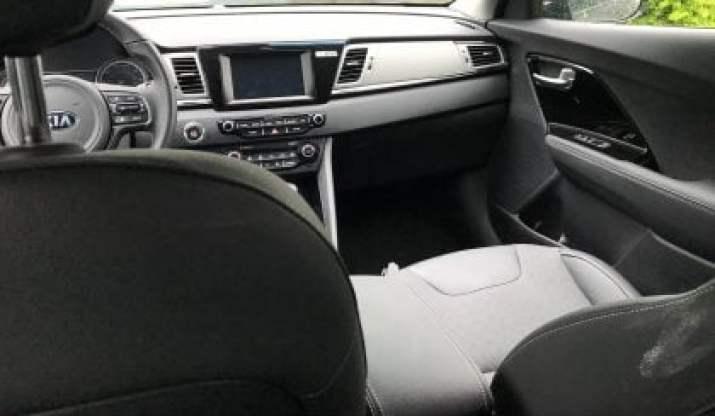 Front dashboard Kia Niro 2018 Hybrid Electric car