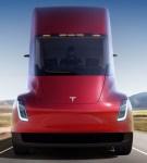 Long haul electric vehicle charging a Tesla semi