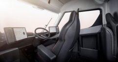 Tesla semi interior ingress