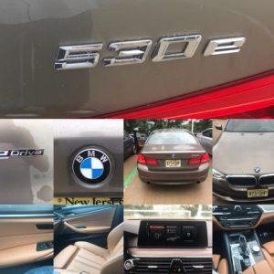 BMW 530e Plugin Hybrid Electric performance Car