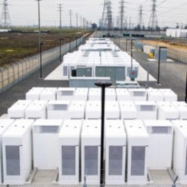Energy storage from Panasonic South Bay moss landing