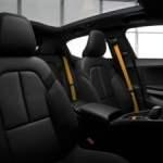 Polestar 2 electric interior plush