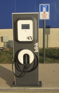 Blink Charging EV Charging, IKEA, Norfolk