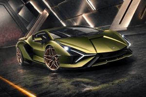Lamborghini Sian hybrid