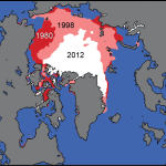 Global ice Levels by years