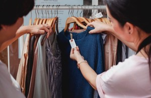 Therefore it's essential that apparel manufacturers do their part. However, as consumers, we have the same responsibility to buy with intent and waste less and to cut what they call Fast Fashion.