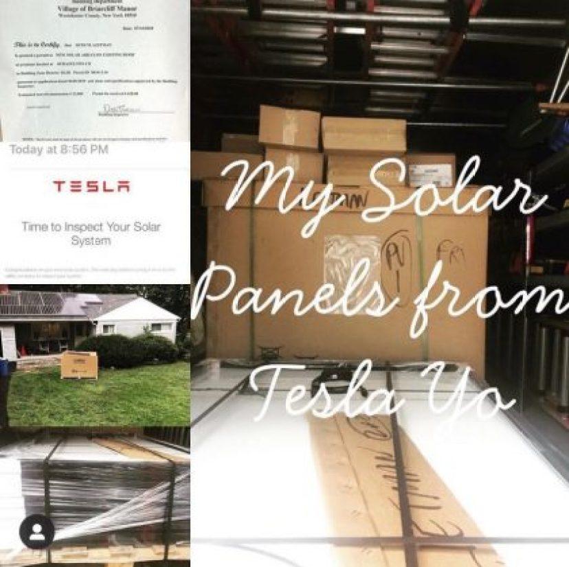 Solar panels installation